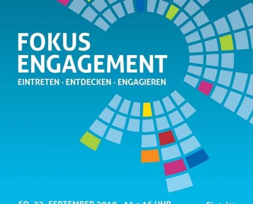 Plakat Fokus Engagement am 22.9.2019