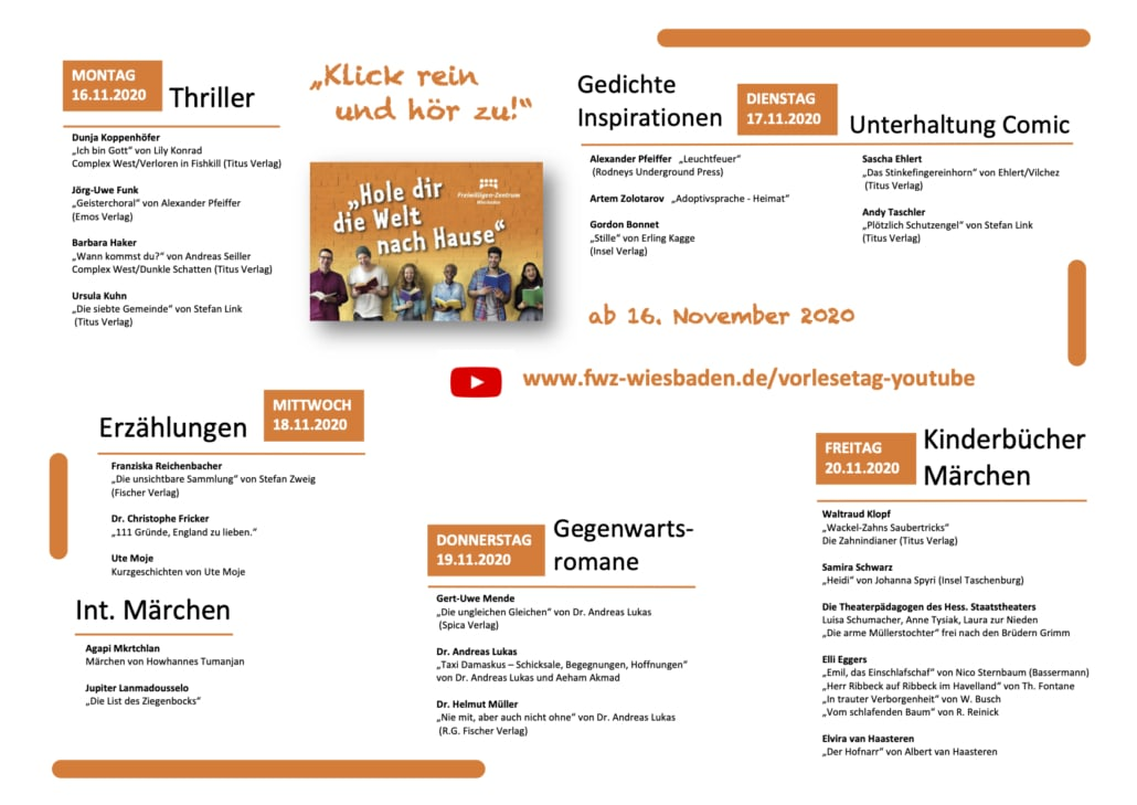 Vorlesetag 2020 Wiesbaden Programm